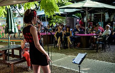 La guinguette de Lulu Parc - Rochecorbon - Juillet 2017